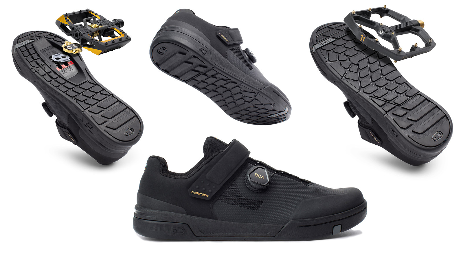 Crankbrothers Introduces Mountain Bike Shoes