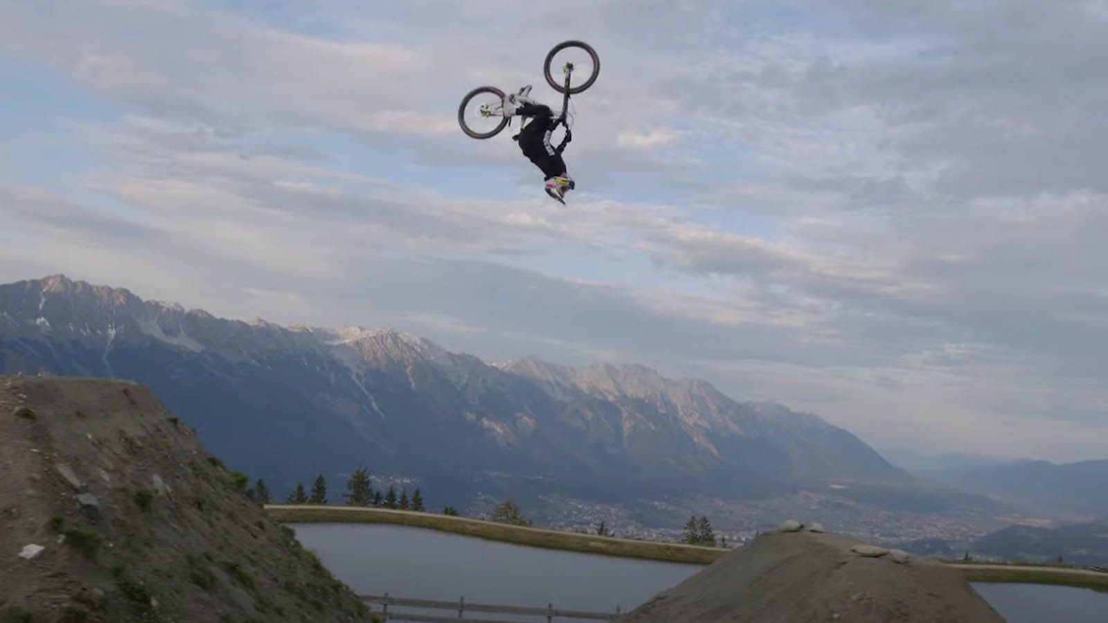 Fabio Wibmer Breaks in His New Shoes with Mega Hits, Trials, and Street
