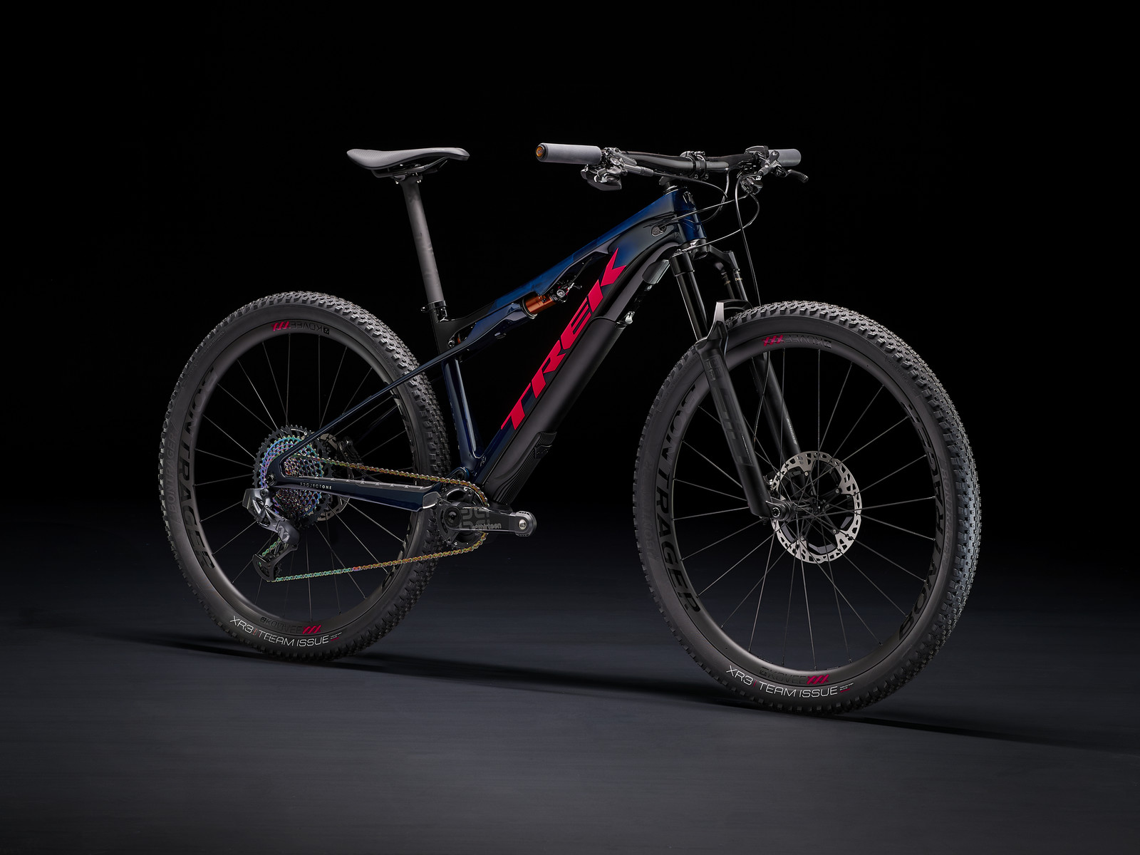 34.7 Pounds with Motor and Battery, 26.6 Pounds (and Rideable) without - Trek's New E-Caliber XC eMTB