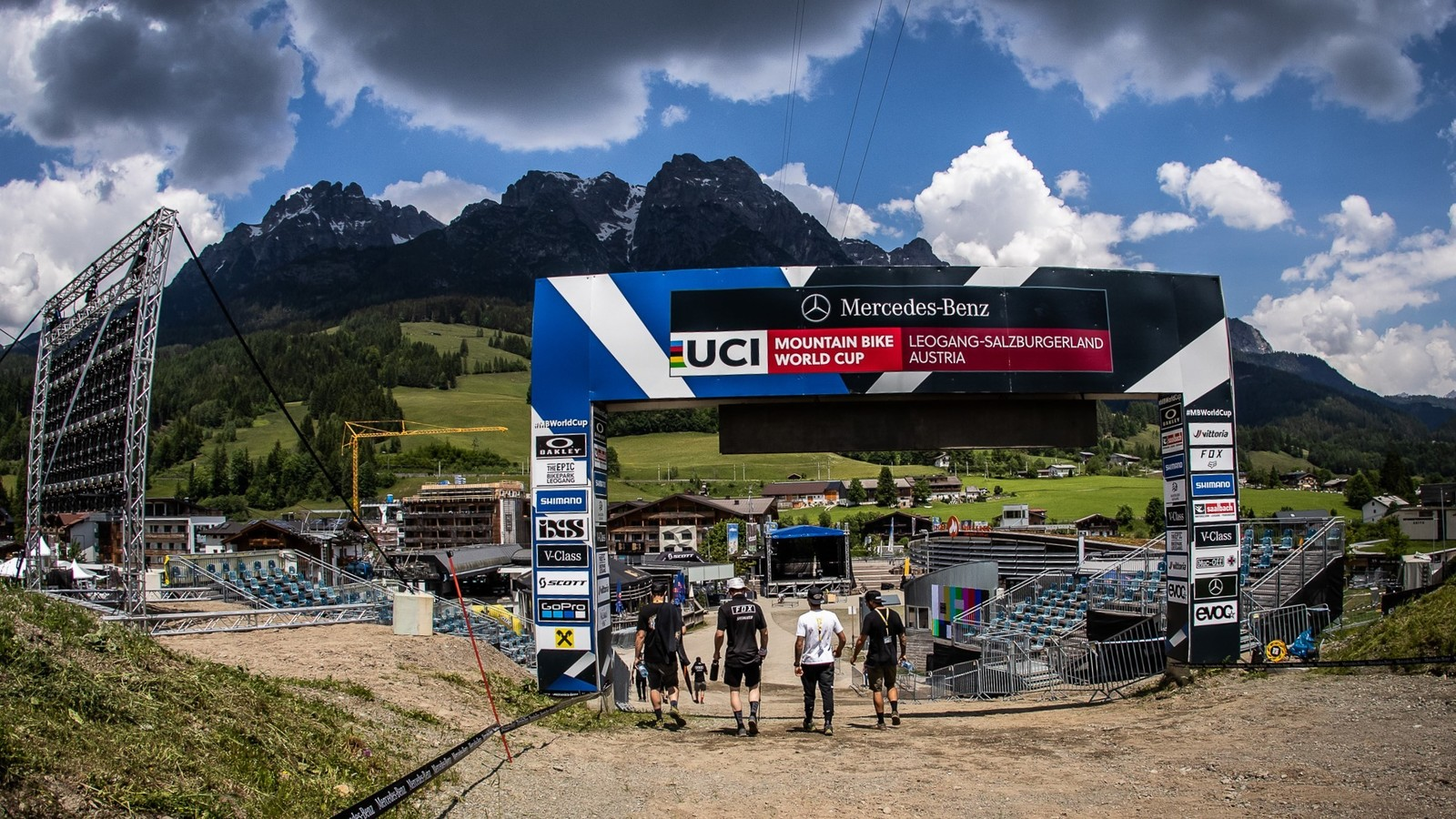 2021 CushCore World Cup DH Teams and Riders