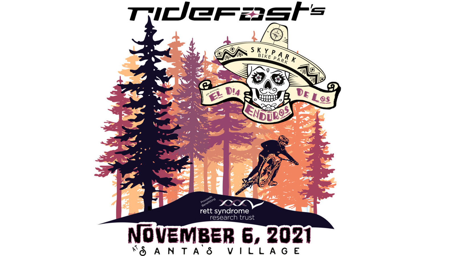 RideFast's Annual Charity Ride Moves to SkyPark Bike Park November 6th