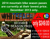 Whiteface 2014 Mountain Biking Season Pass Sale
