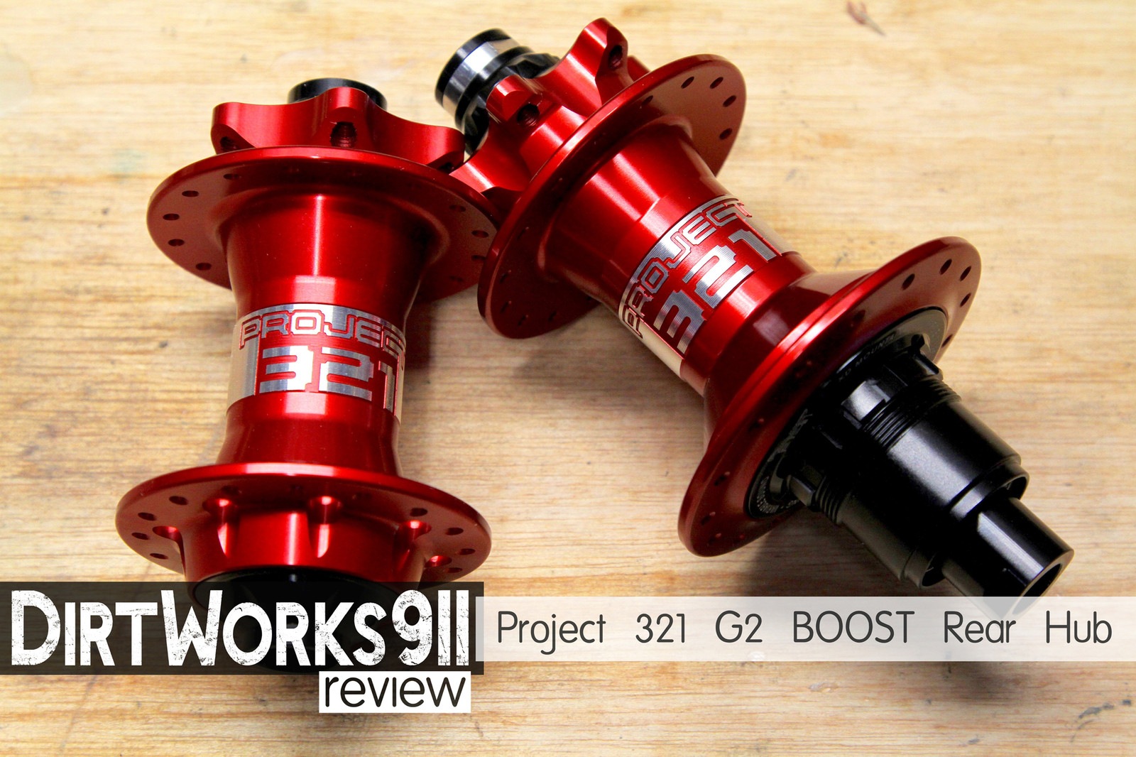 Project 321 G2 BOOST Rear Hub
