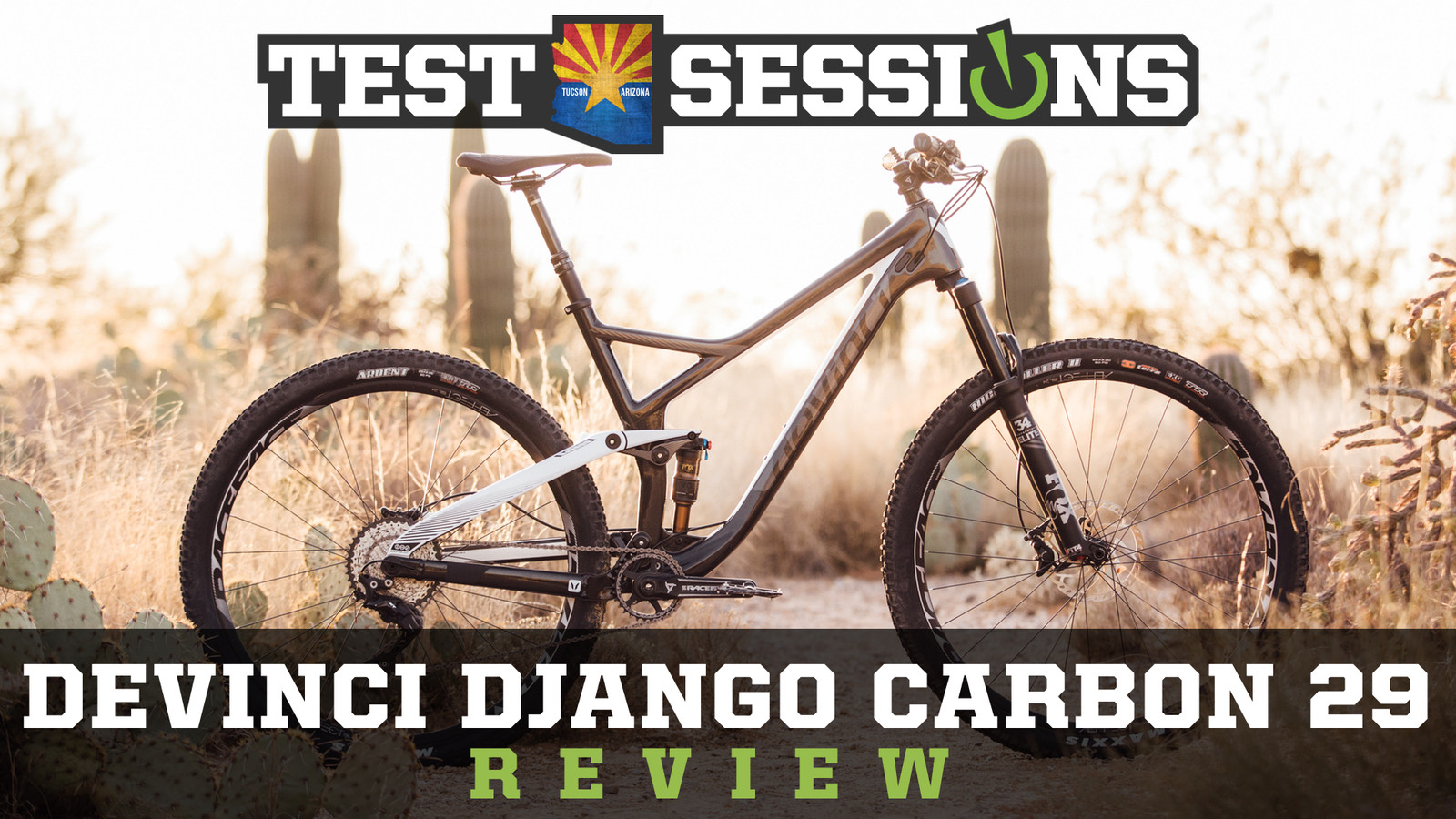 Review - 2017 Devinci Django from Vital MTB Test Sessions