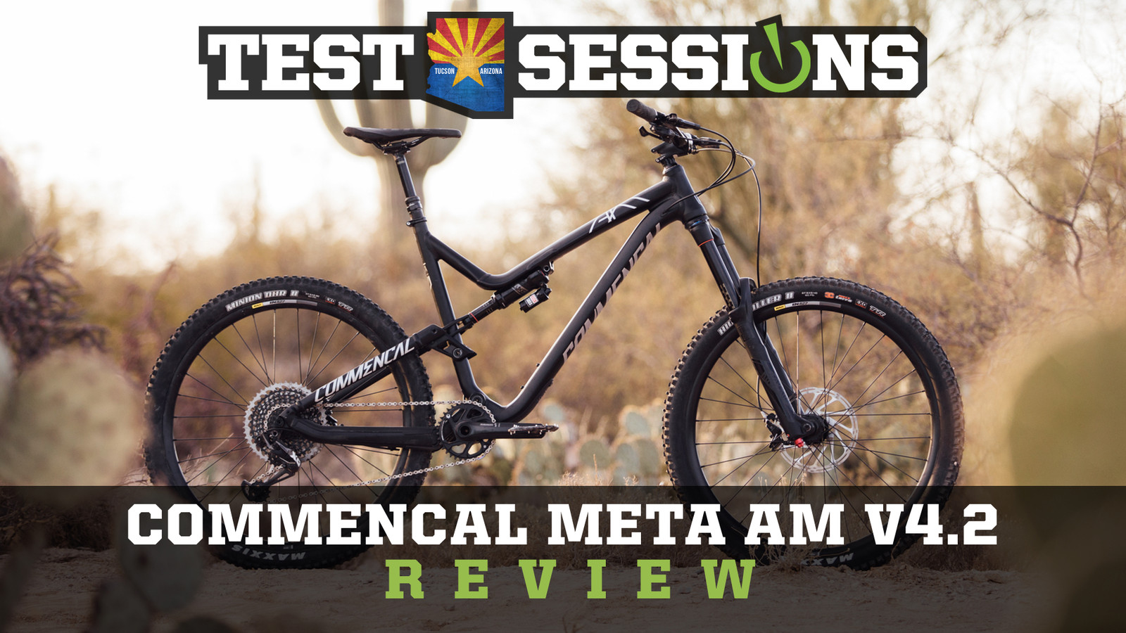 Review - 2017 Commencal Meta AM V4.2 from Vital MTB Test Sessions