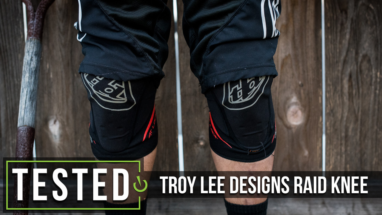 S Troy Lee Designs KG 5400 Knee Guard Black