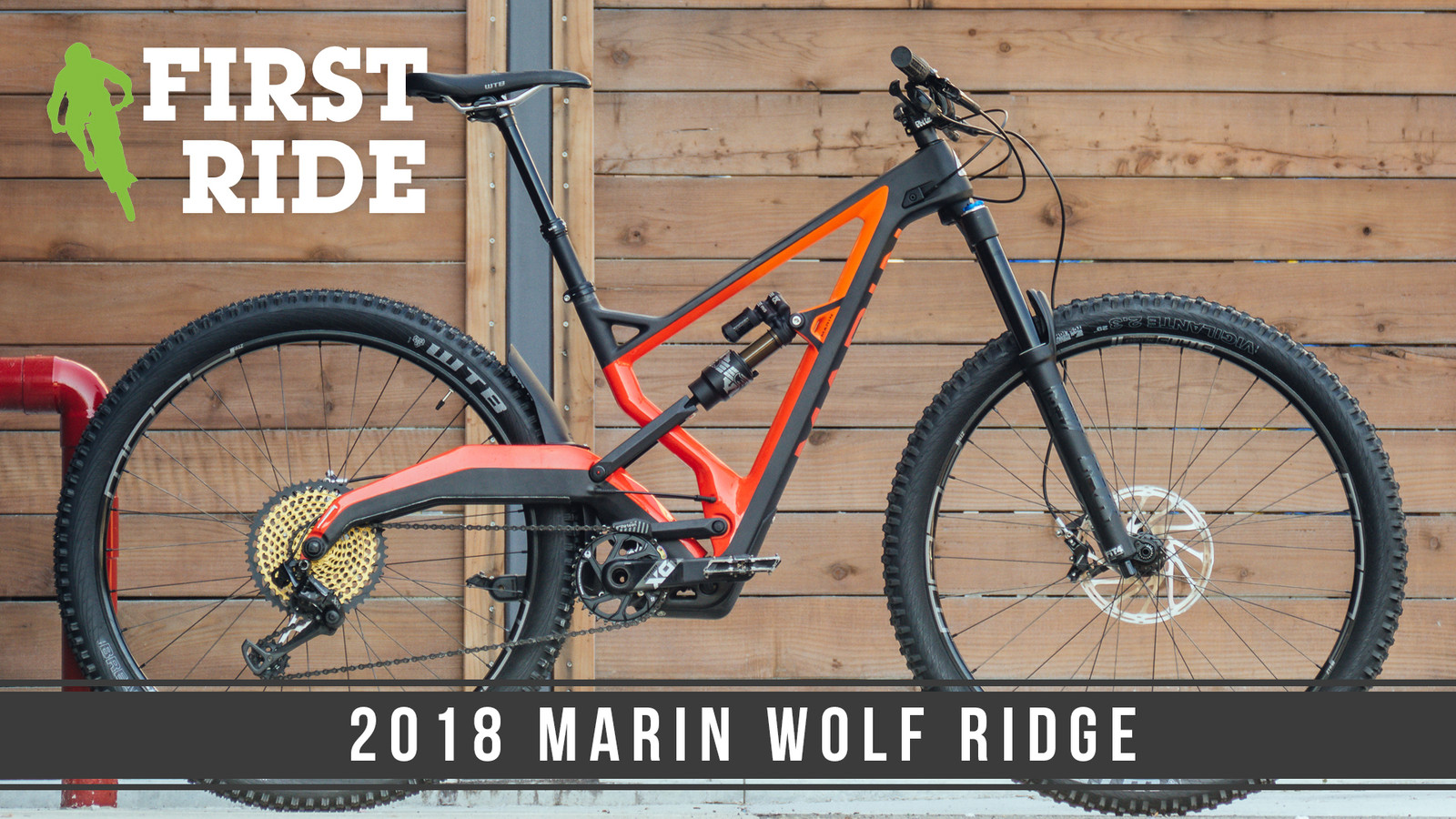 First Ride: 2018 Marin Wolf Ridge Pro and Naild R3ACT Suspension