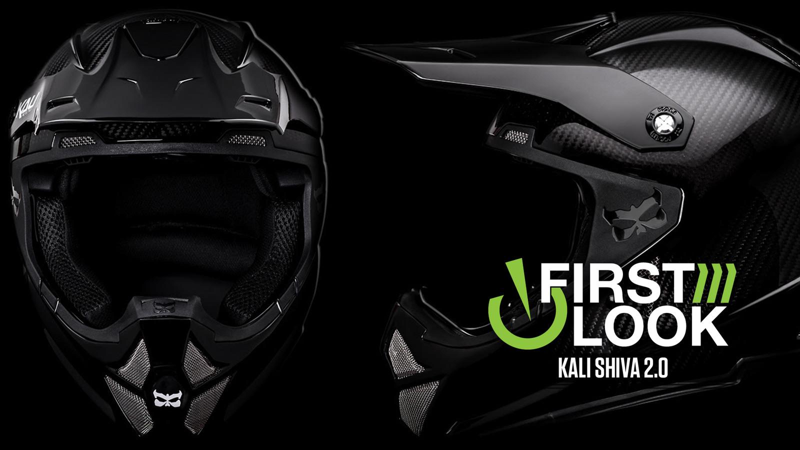 First Look: Kali Shiva 2.0 Full Face Helmet