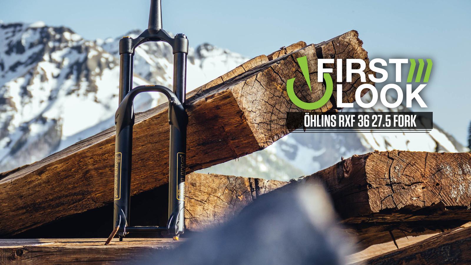 First Look: Öhlins RXF 36 27.5 Fork - Sweden's Big Hit Contender