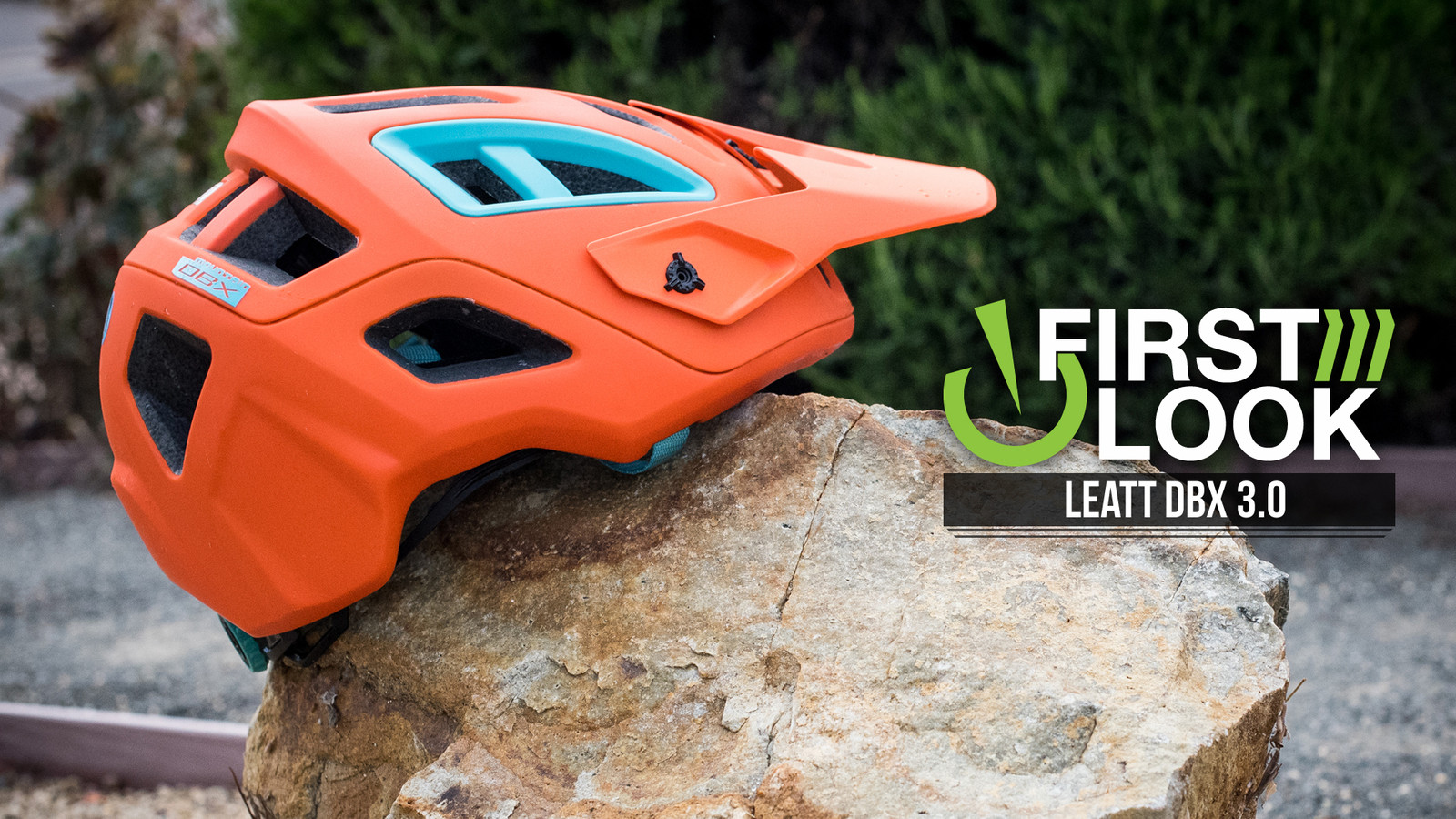 First Look: Leatt DBX 3.0 All-Mountain Helmet