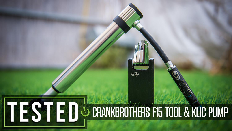 Tested: Crankbrothers Klic Handpump and F15 Mini Tool