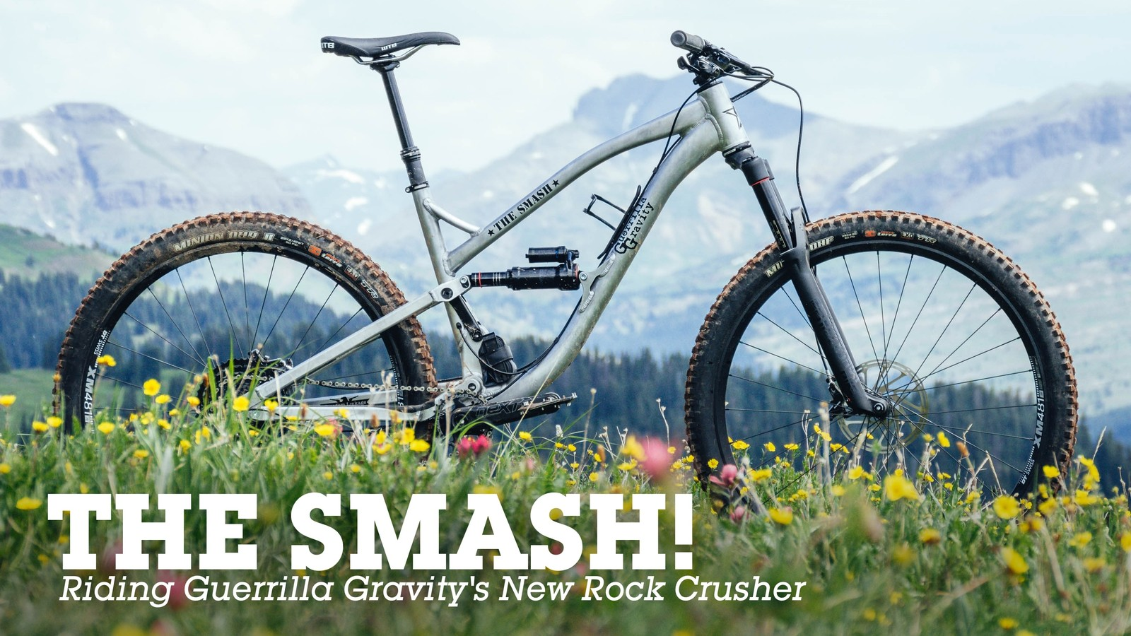 THE SMASH! Riding Guerrilla Gravity's New Rock Crusher