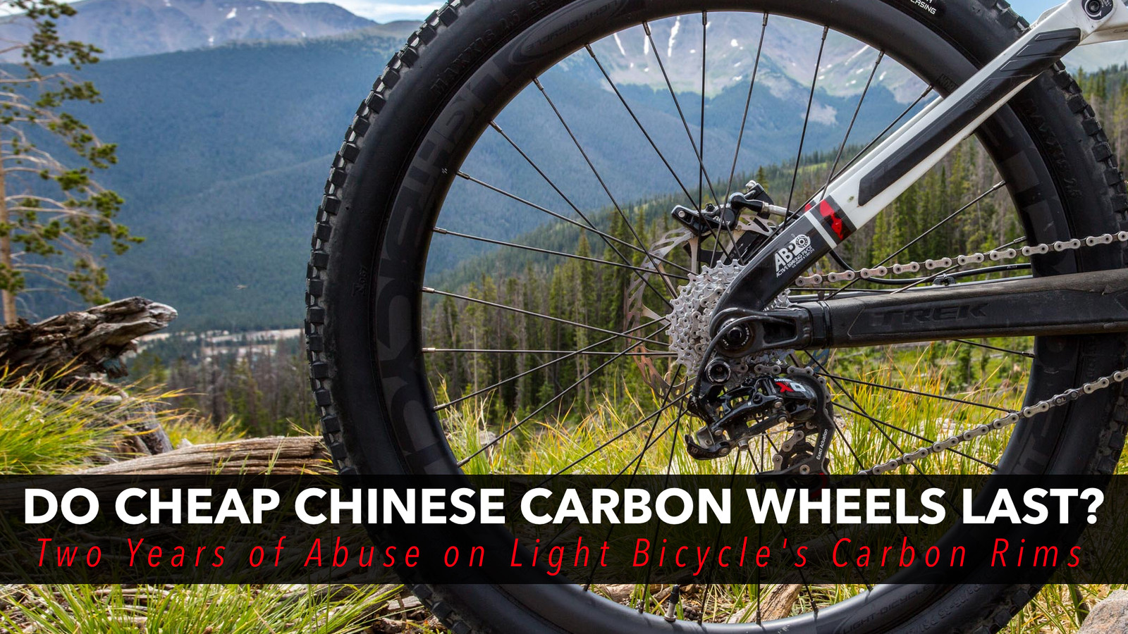 Do Cheap Chinese Carbon Wheels Last? Two Years of Abuse on Light Bicycle's Carbon Rims