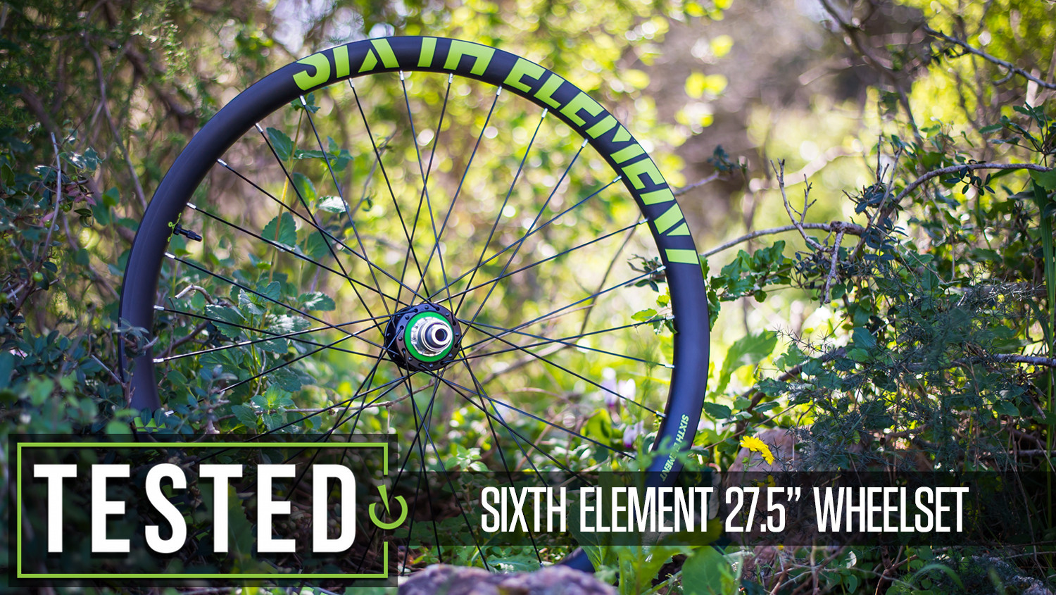 """Tested: Sixth Element 27.5"""" Carbon Wheelset"""