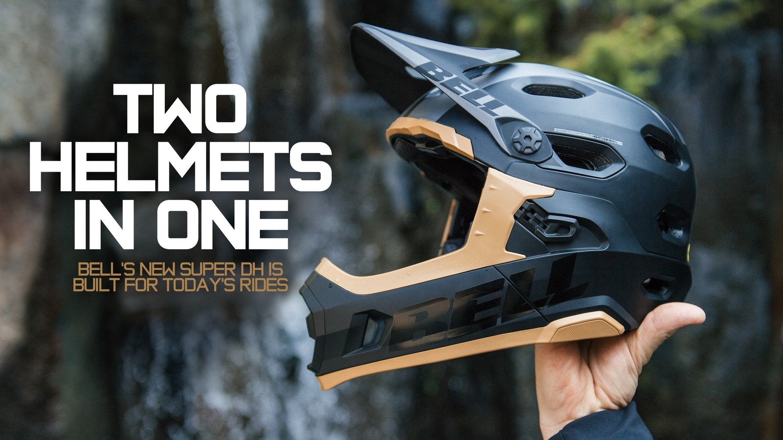 Two Helmets in One - Bell's New Super DH is Built for Today's Rides