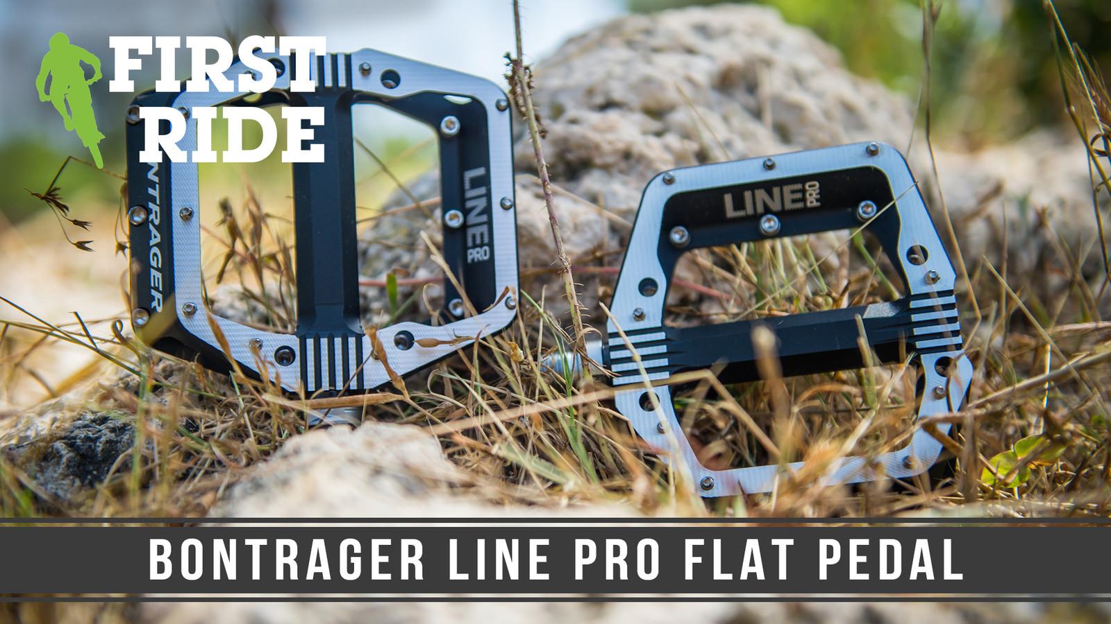 First Ride: Bontrager Line Pro Flat Pedal