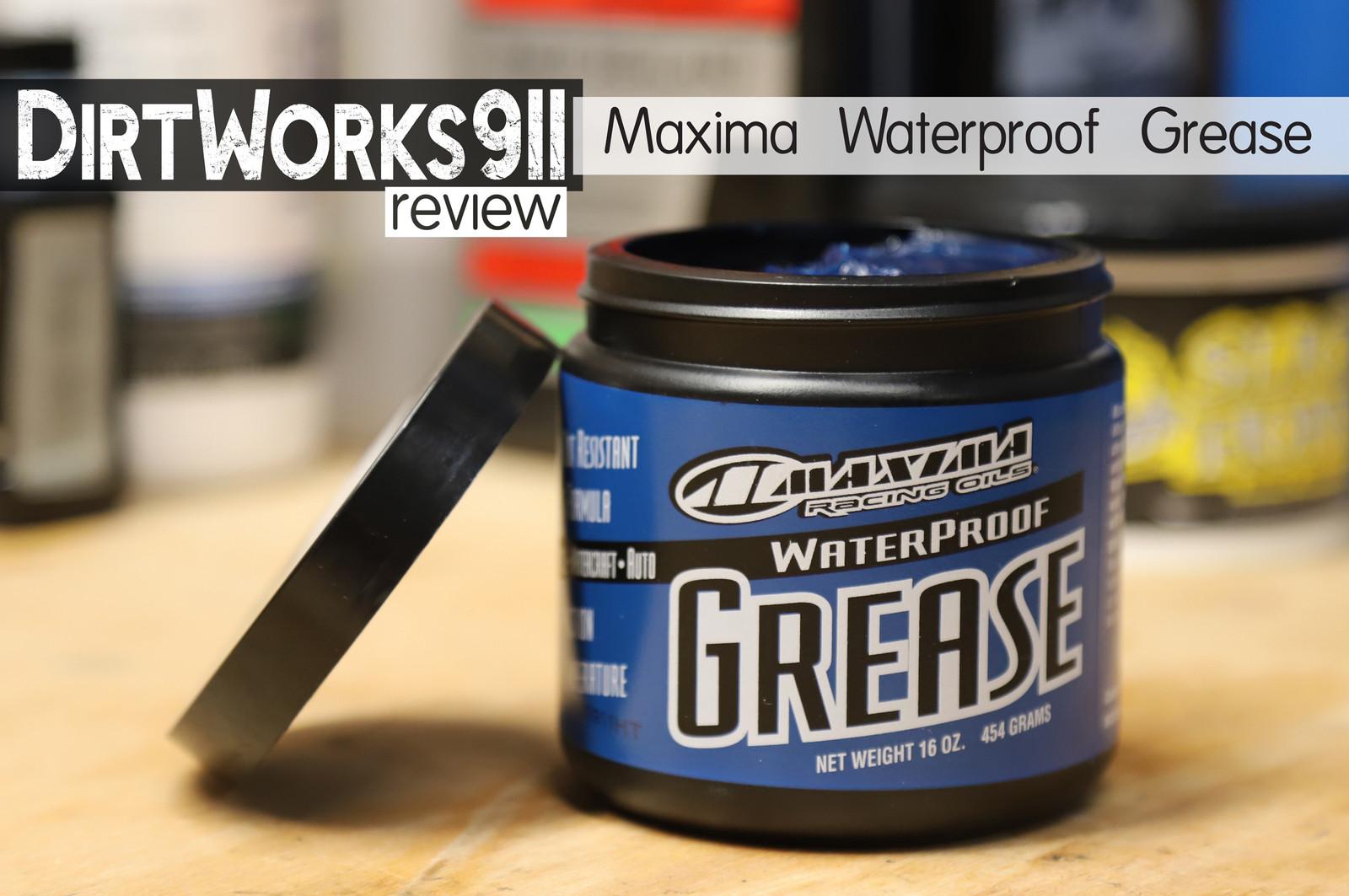 Maxima Waterproof Grease