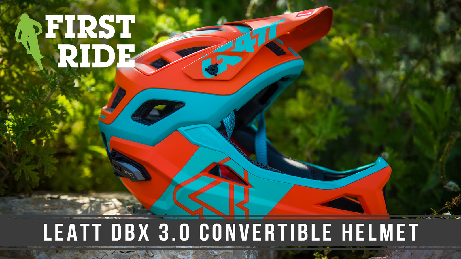 Best of Both Worlds? We Ride the New Leatt DBX 3.0 Convertible Helmet