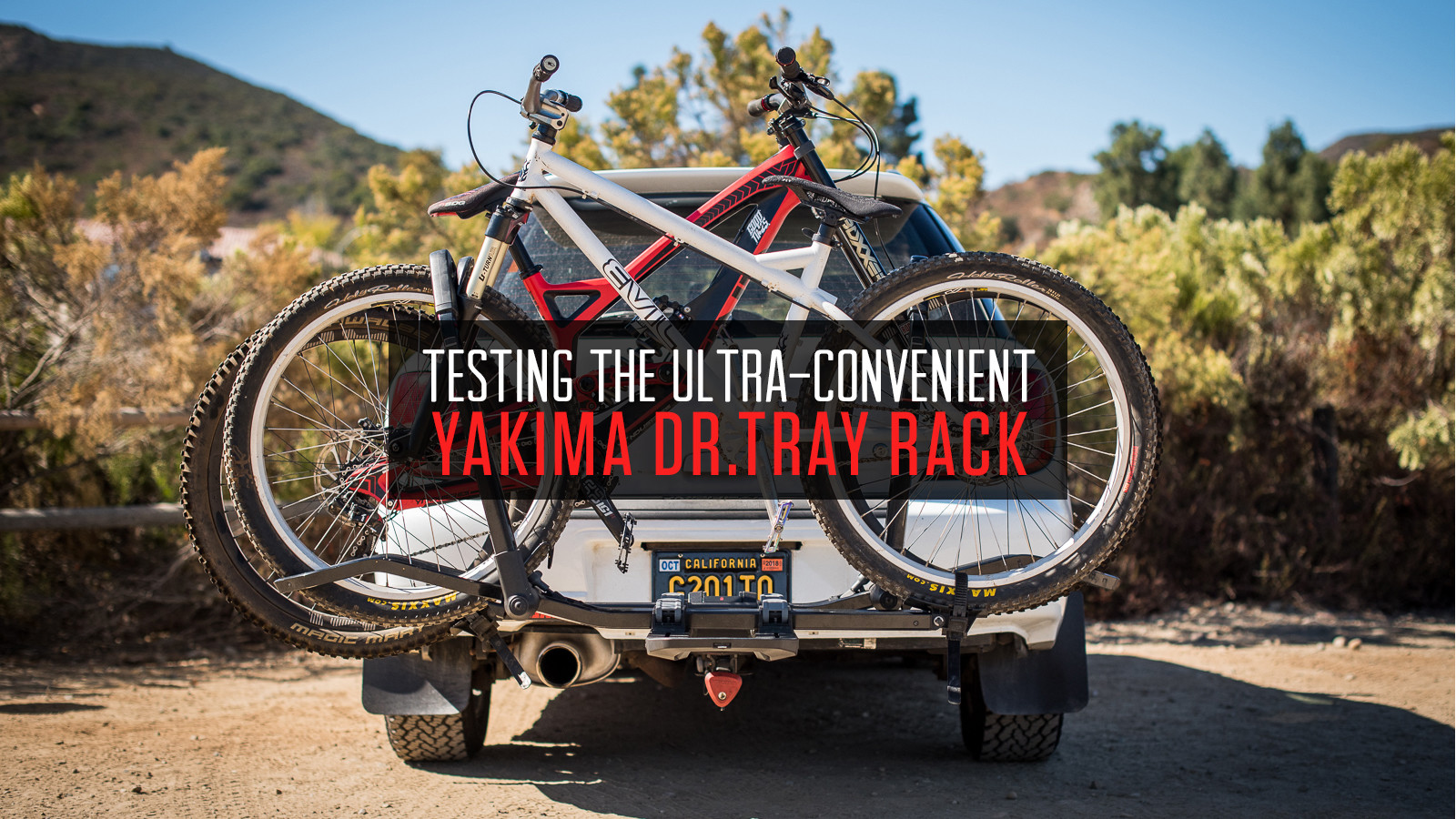 Testing the Ultra-Convenient Yakima Dr.Tray Hitch Rack