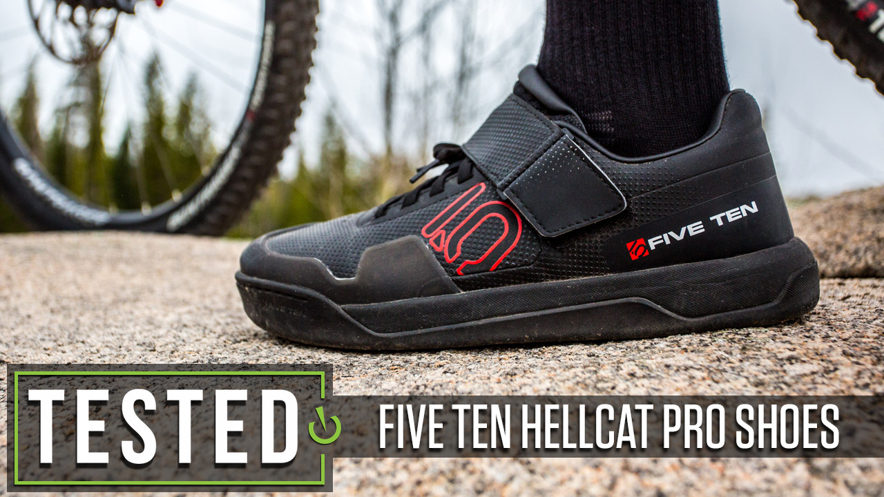 Tested: Five Ten Hellcat Pro Clipless Shoes