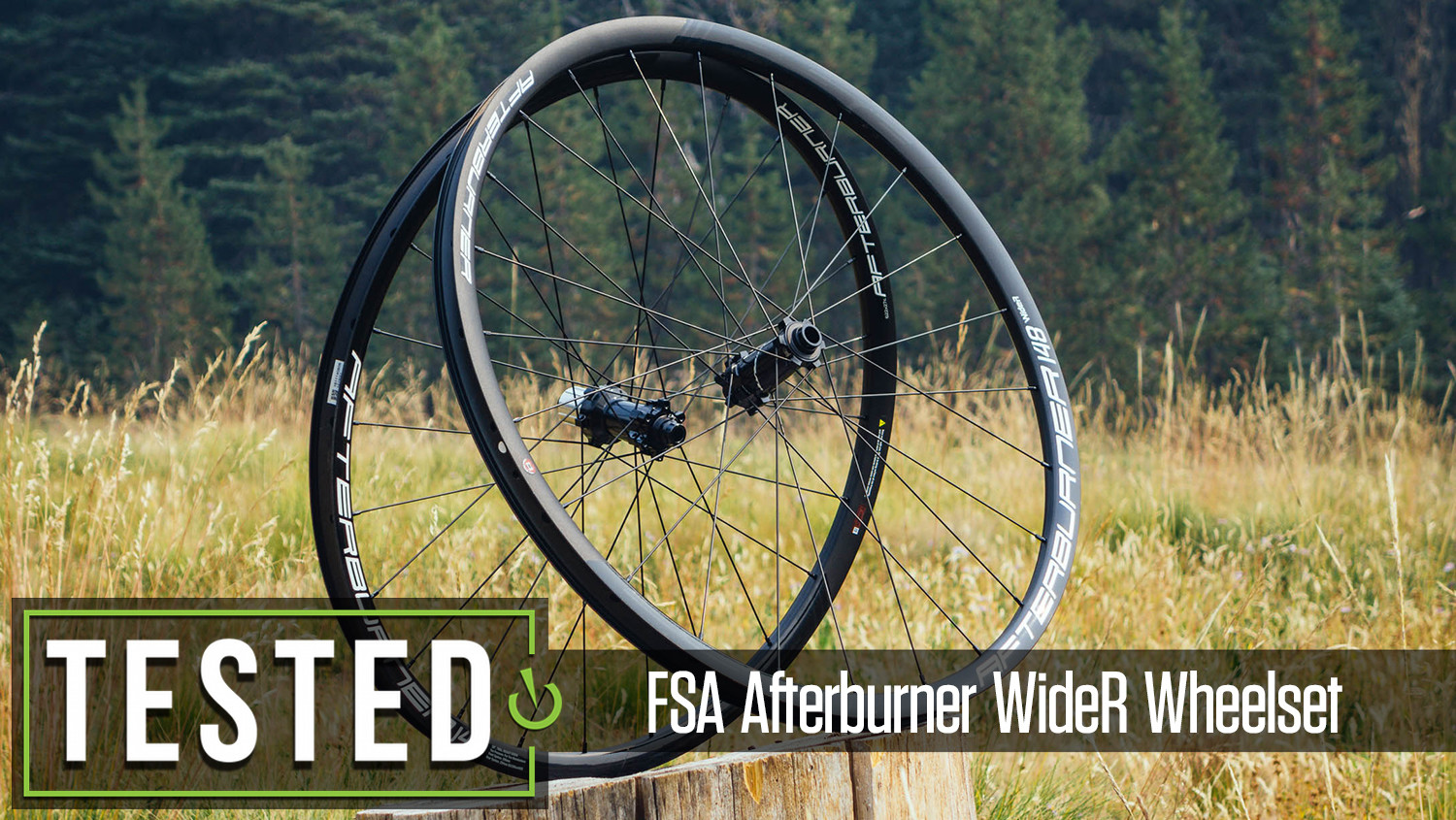 Tested: FSA Afterburner WideR Wheelset