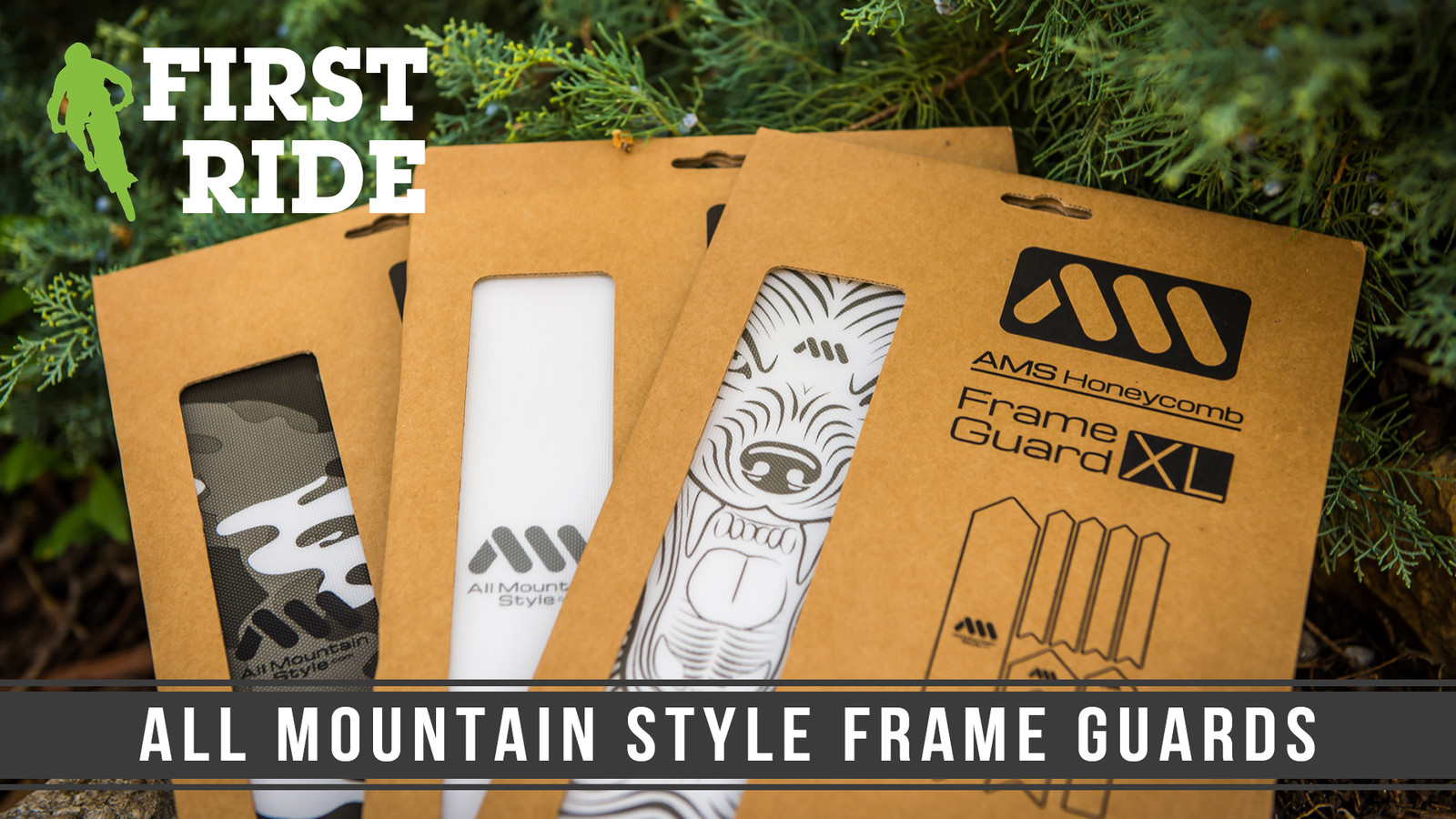 First Look/Ride: All Mountain Style XL Frame Protector