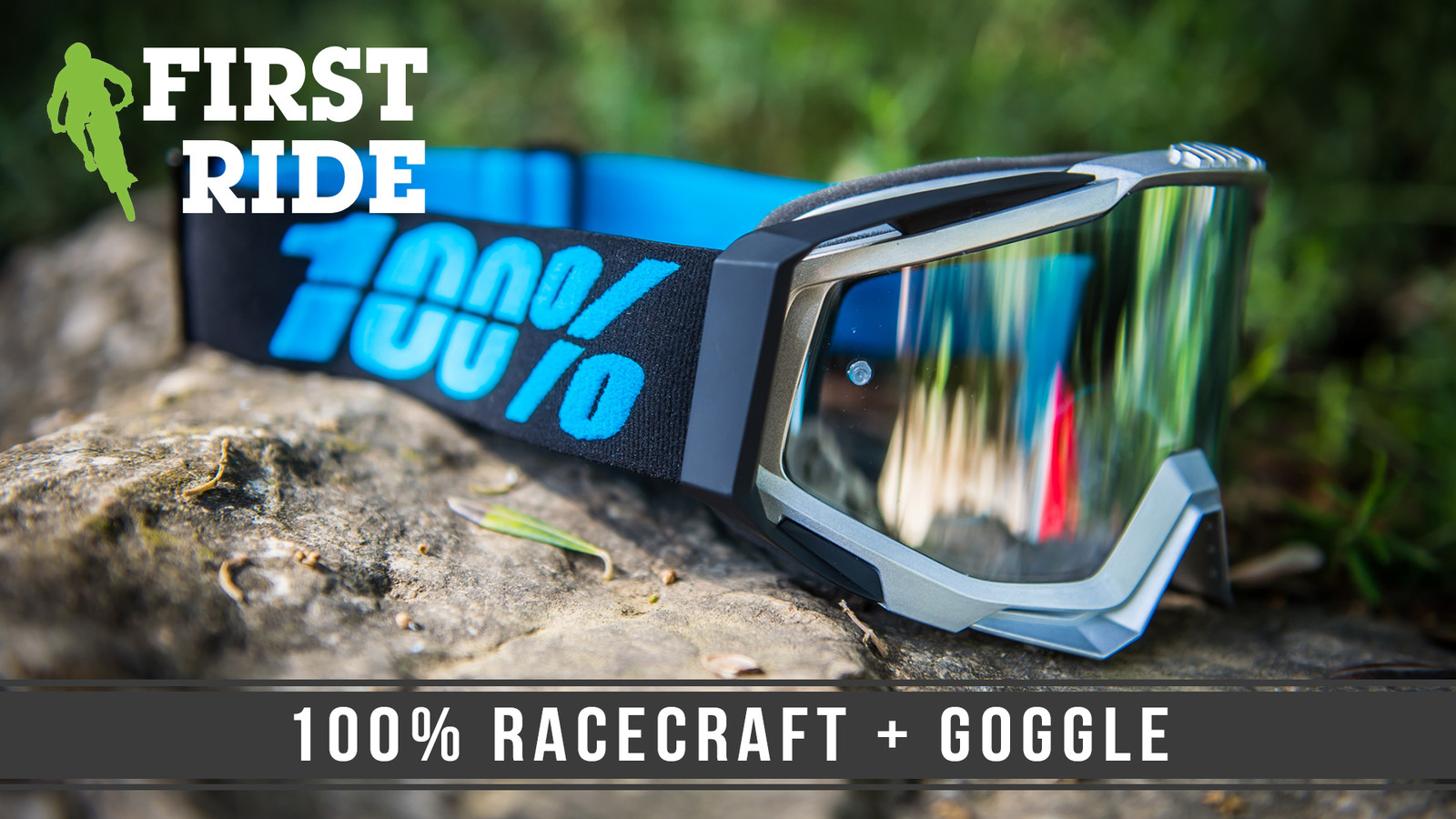 First Ride: 100% Racecraft + Goggle
