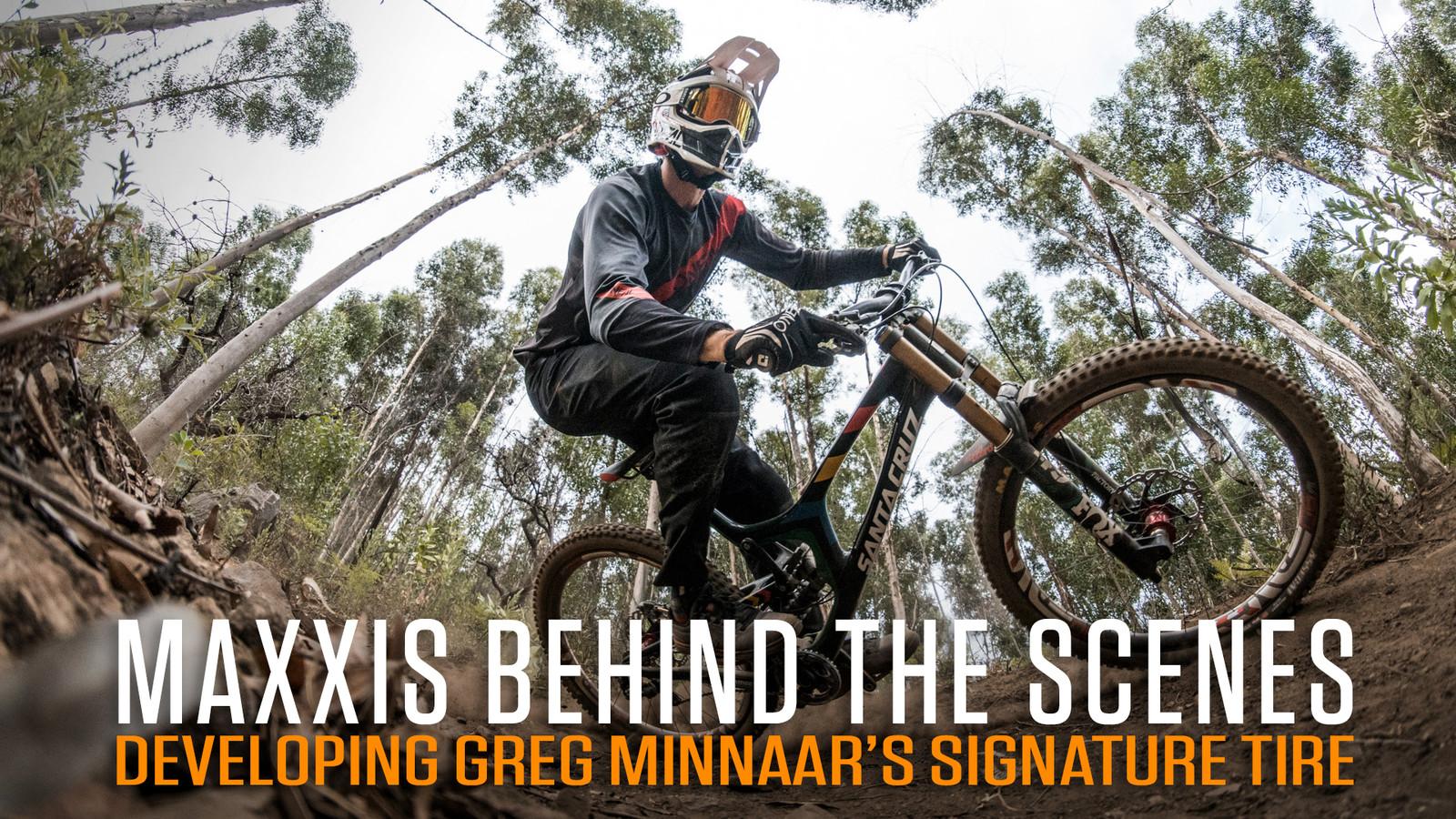 Developing Greg Minnaar's Signature Maxxis Assegai Tire