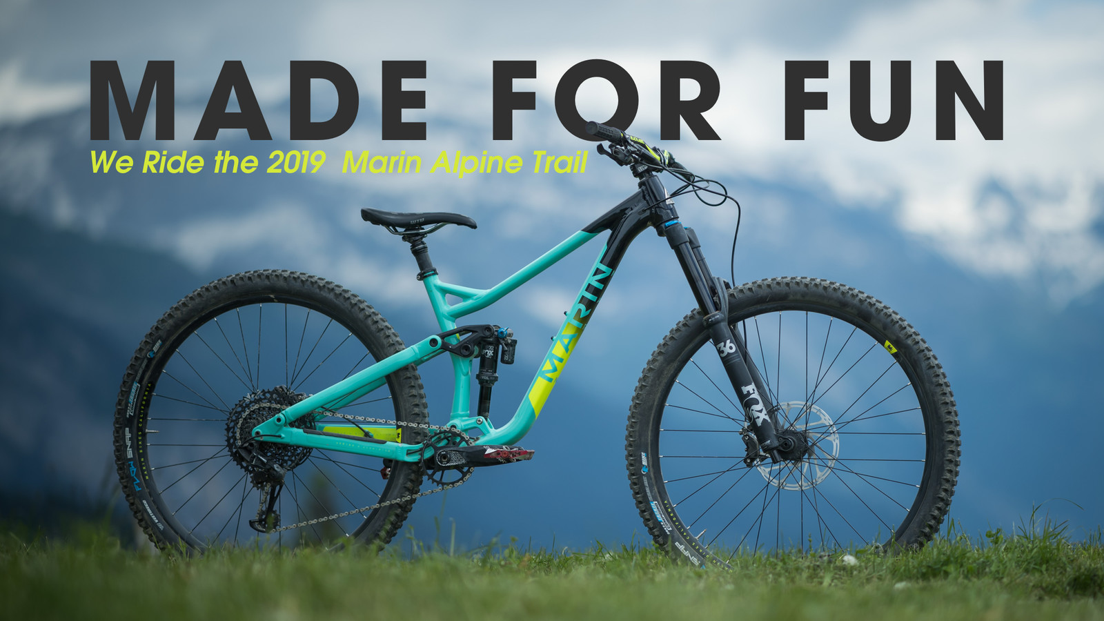 Riding the 2019 Marin Alpine Trail - Made for Fun