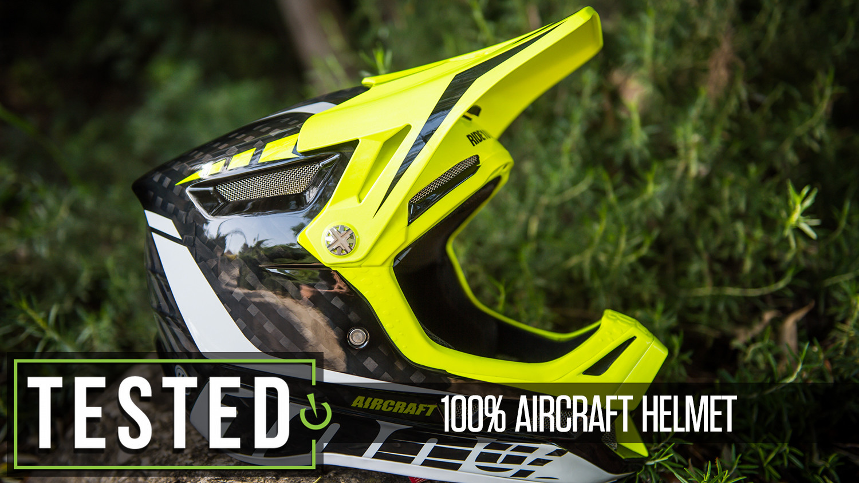 Tested: 100% Aircraft Fullface Helmet
