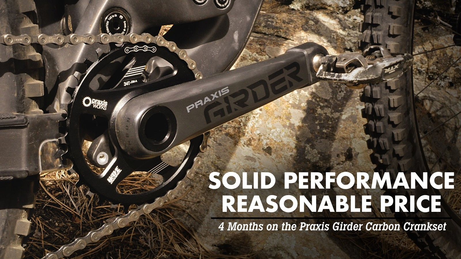 Tested: Praxis Girder Carbon Cranks