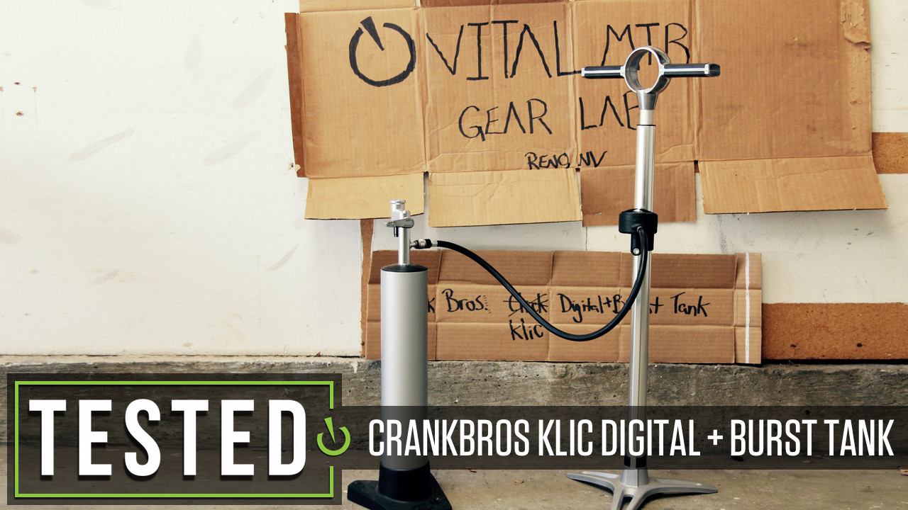 Tested: Crankbrothers Klic Digital Pump with Burst Tank