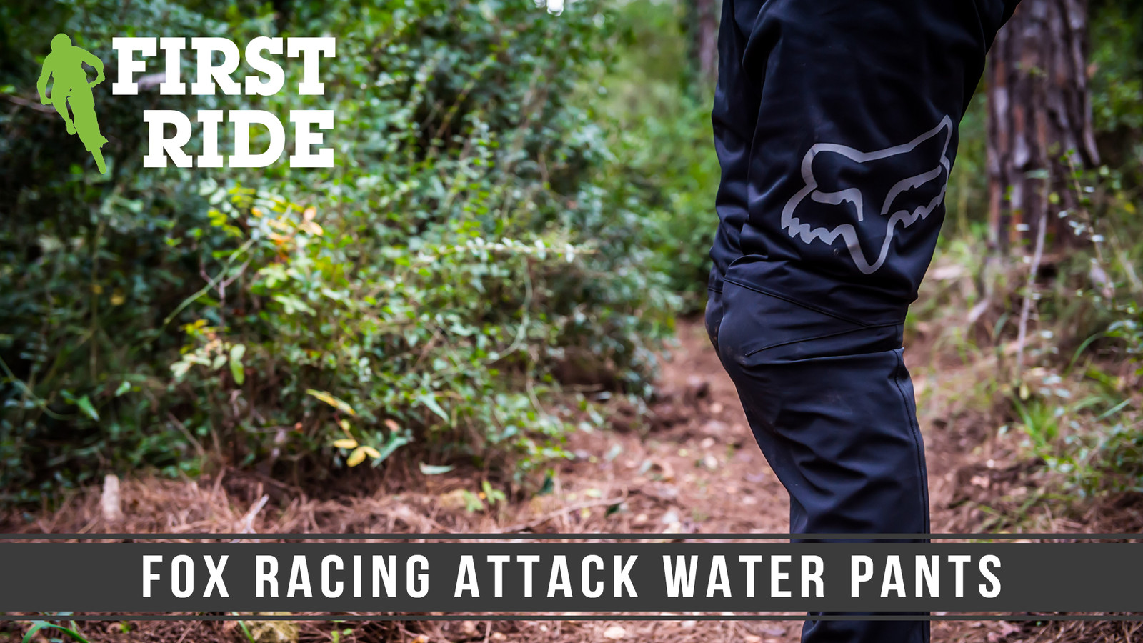 First Ride: Fox Racing Attack Water Pants