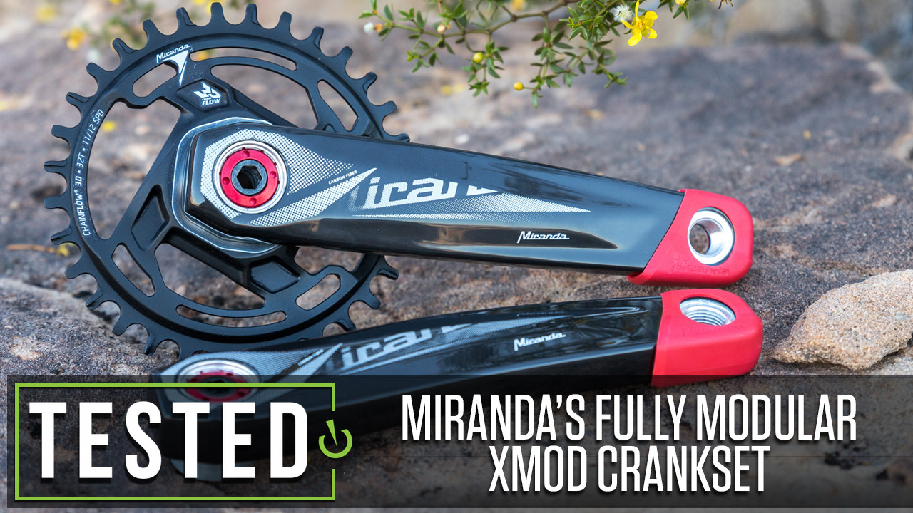 Tested: Miranda's Fully Modular XMOD MTB Carbon Crankset