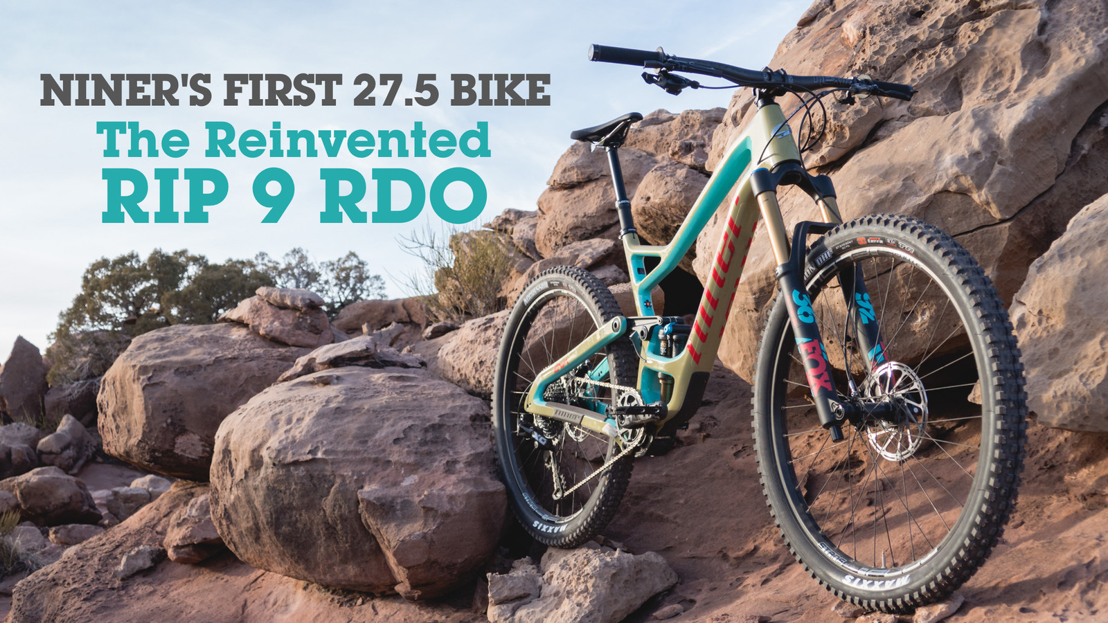 Vital Rides Niner's First 27.5 Bike: The Reinvented RIP 9 RDO V3
