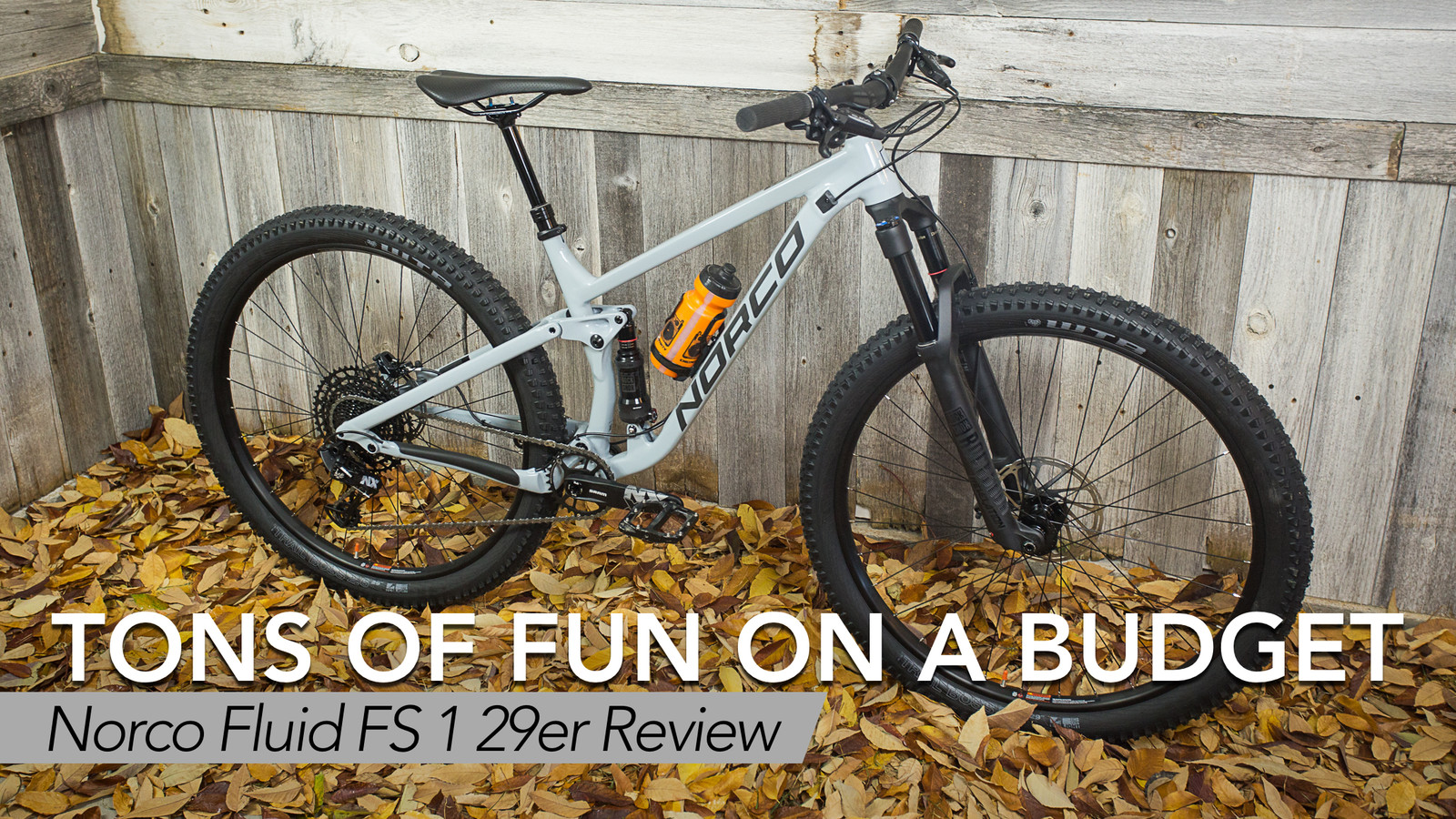 Tons of Fun on a Budget - Norco Fluid FS 1 29er Review