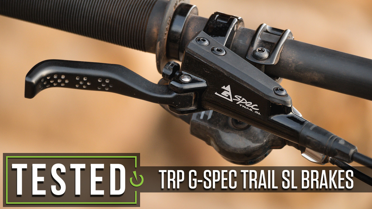 Tested: TRP 4-Piston G-Spec Trail SL Disc Brakes