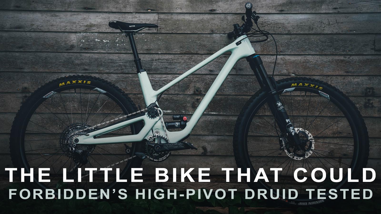 Tested: Forbidden's High-Pivot Druid Trail Bike