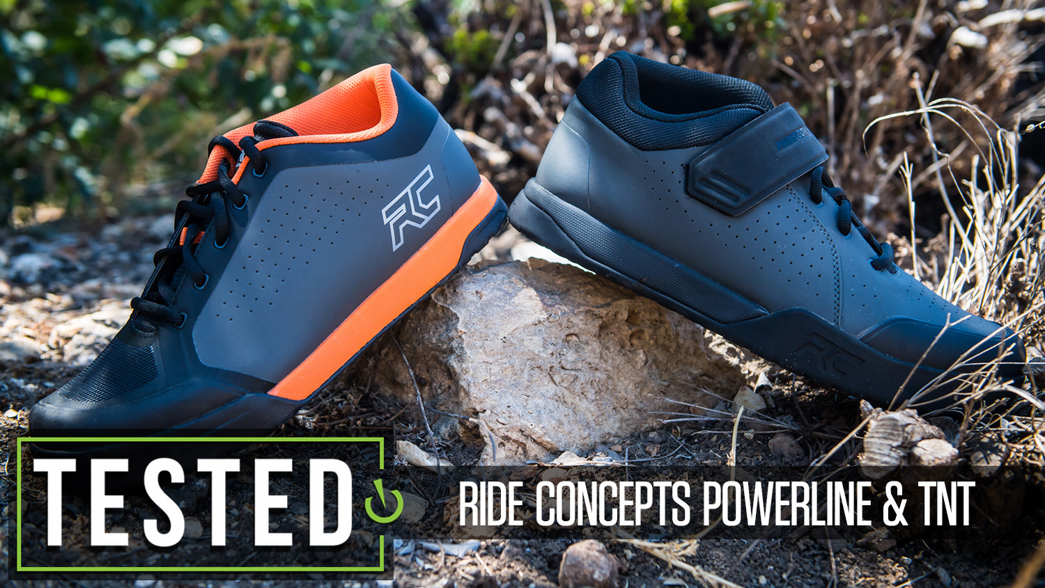 Tested: Ride Concepts Powerline and TNT Flat Pedal Shoes