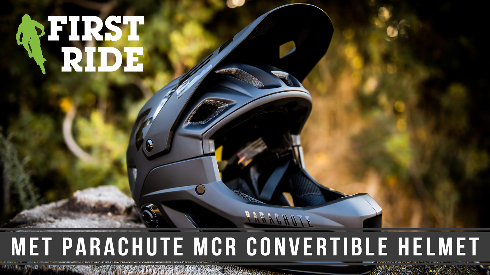 First Ride: MET Parachute MCR Convertible Full Face Helmet