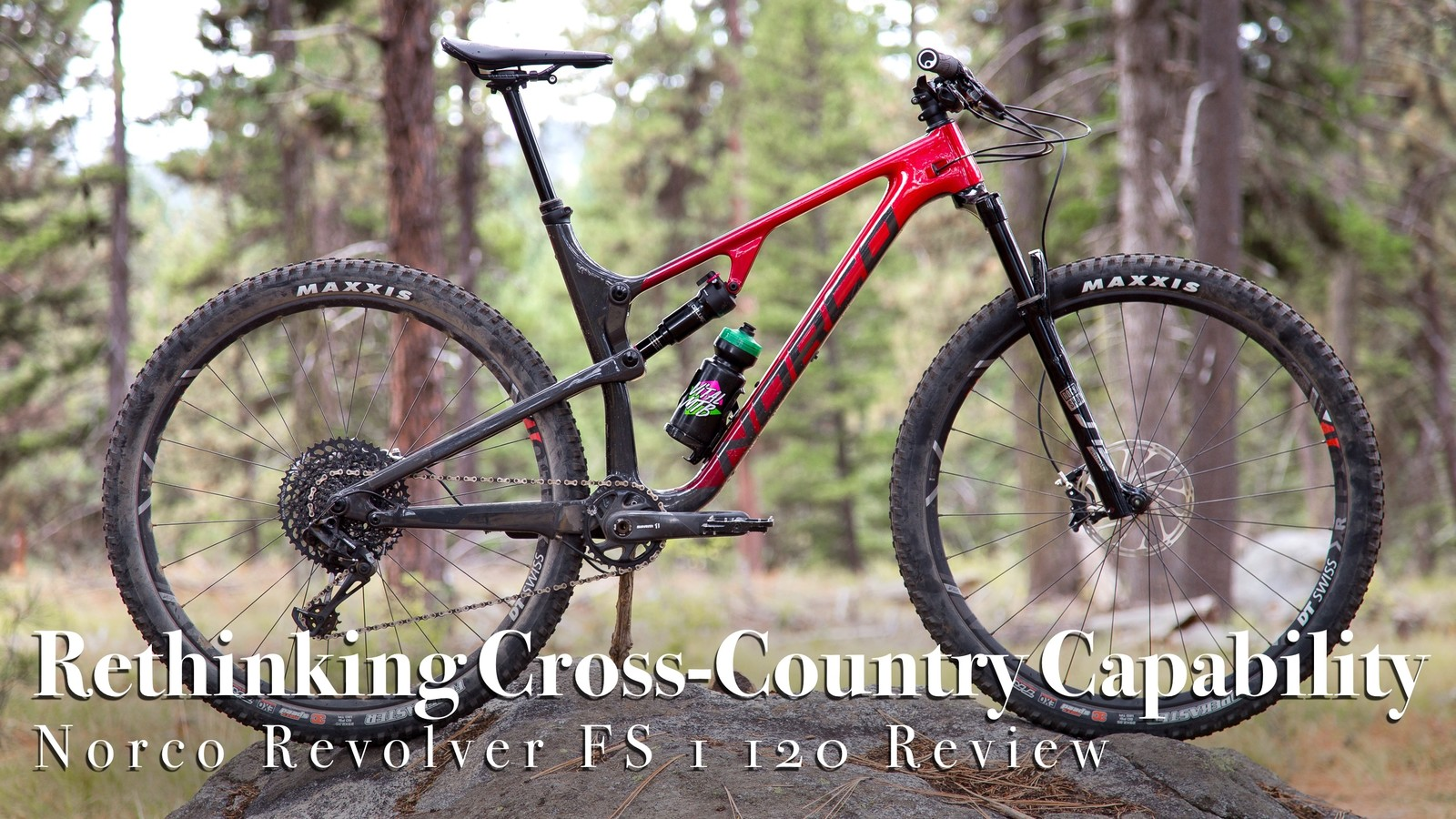 Rethinking Cross-Country Capability - Norco Revolver FS 1 120 Bike Review