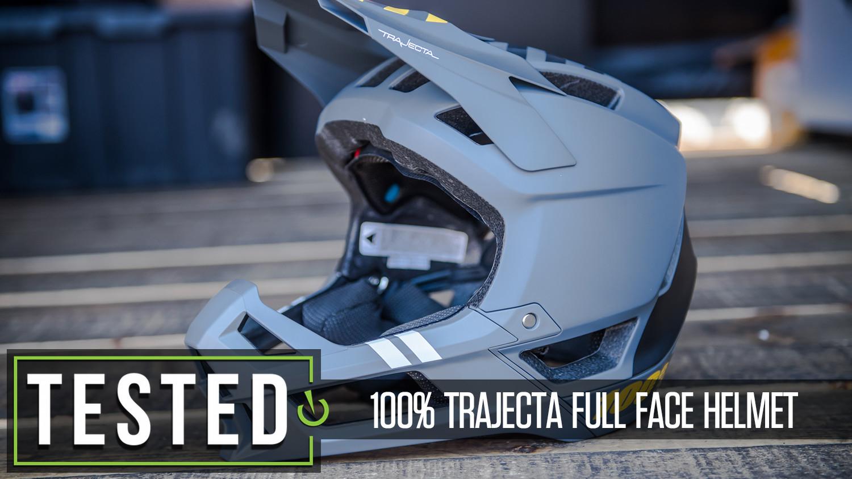Tested: 100% Trajecta Full Face Helmet