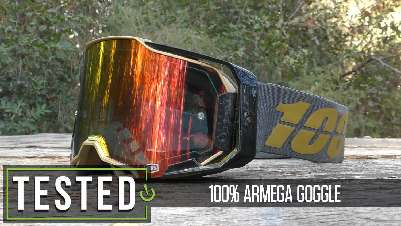 Tested: 100% Armega Goggle