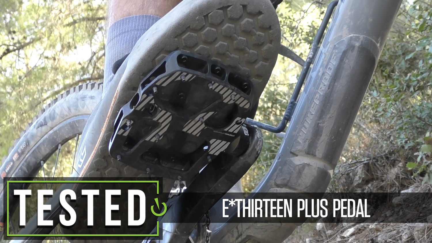 Tested: e*thirteen Plus Flat Pedal
