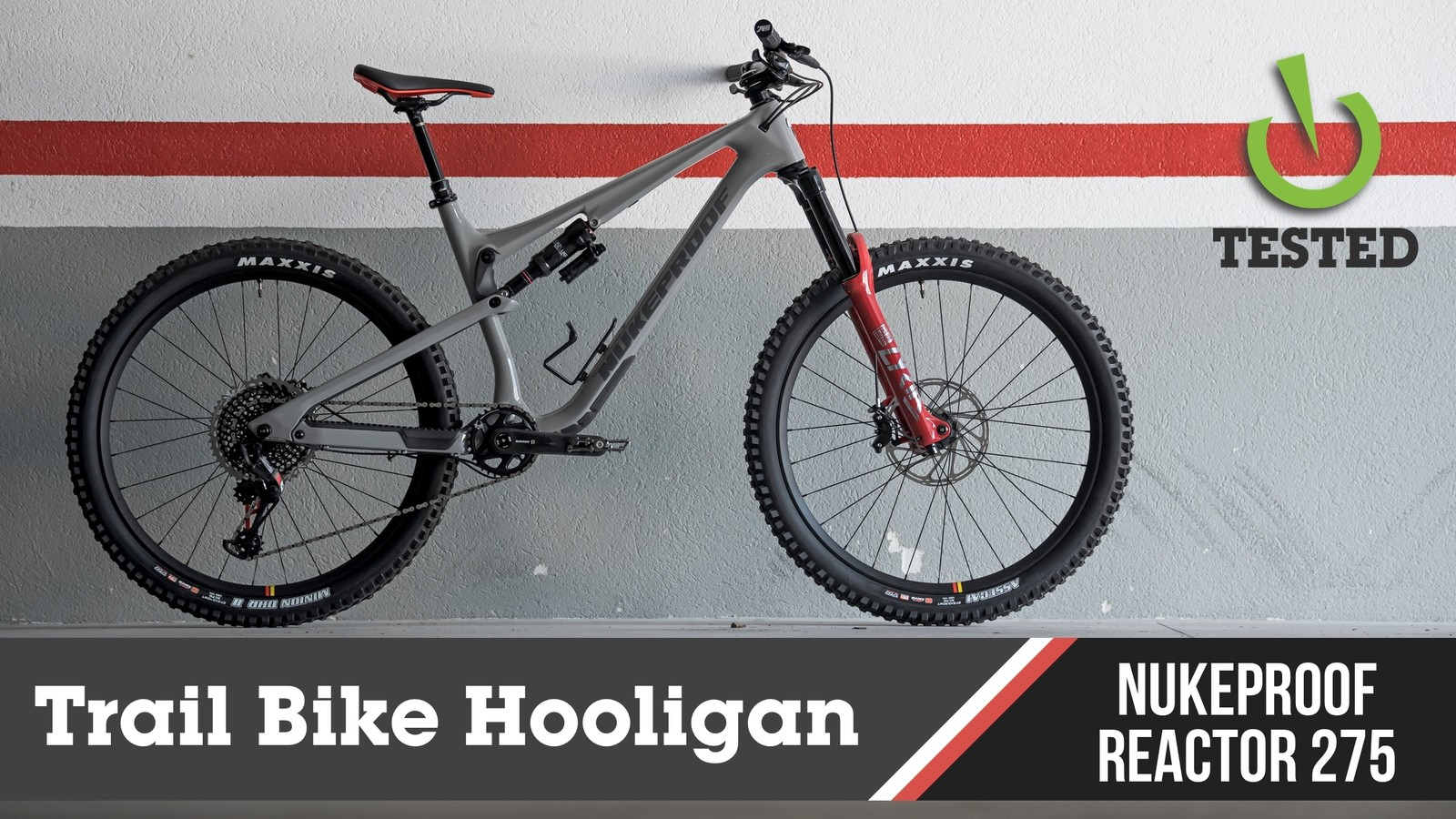 Trail Bike Hooligan: Nukeproof Reactor 275 RS
