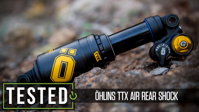 Tested: Öhlins TTX Air Rear Shock
