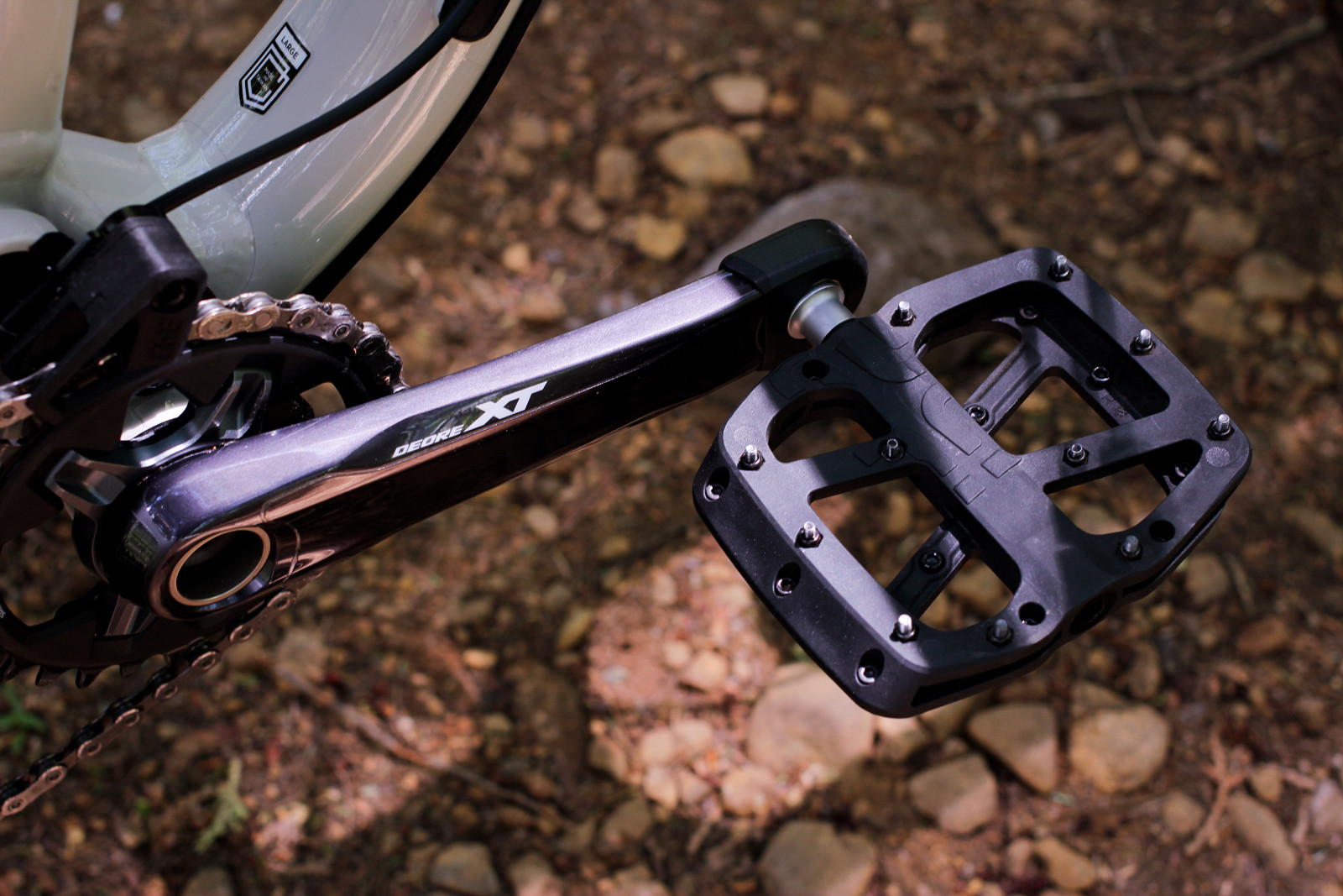 Almost perfect composite pedals