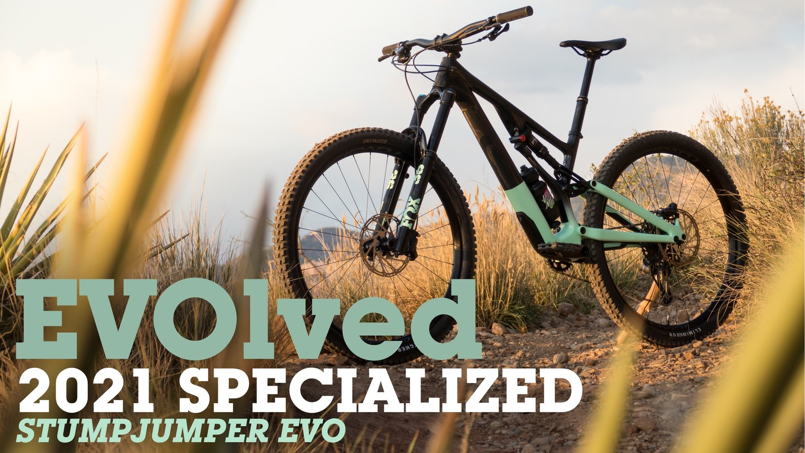 EVOLVED: The All-New 2021 Specialized Stumpjumper EVO