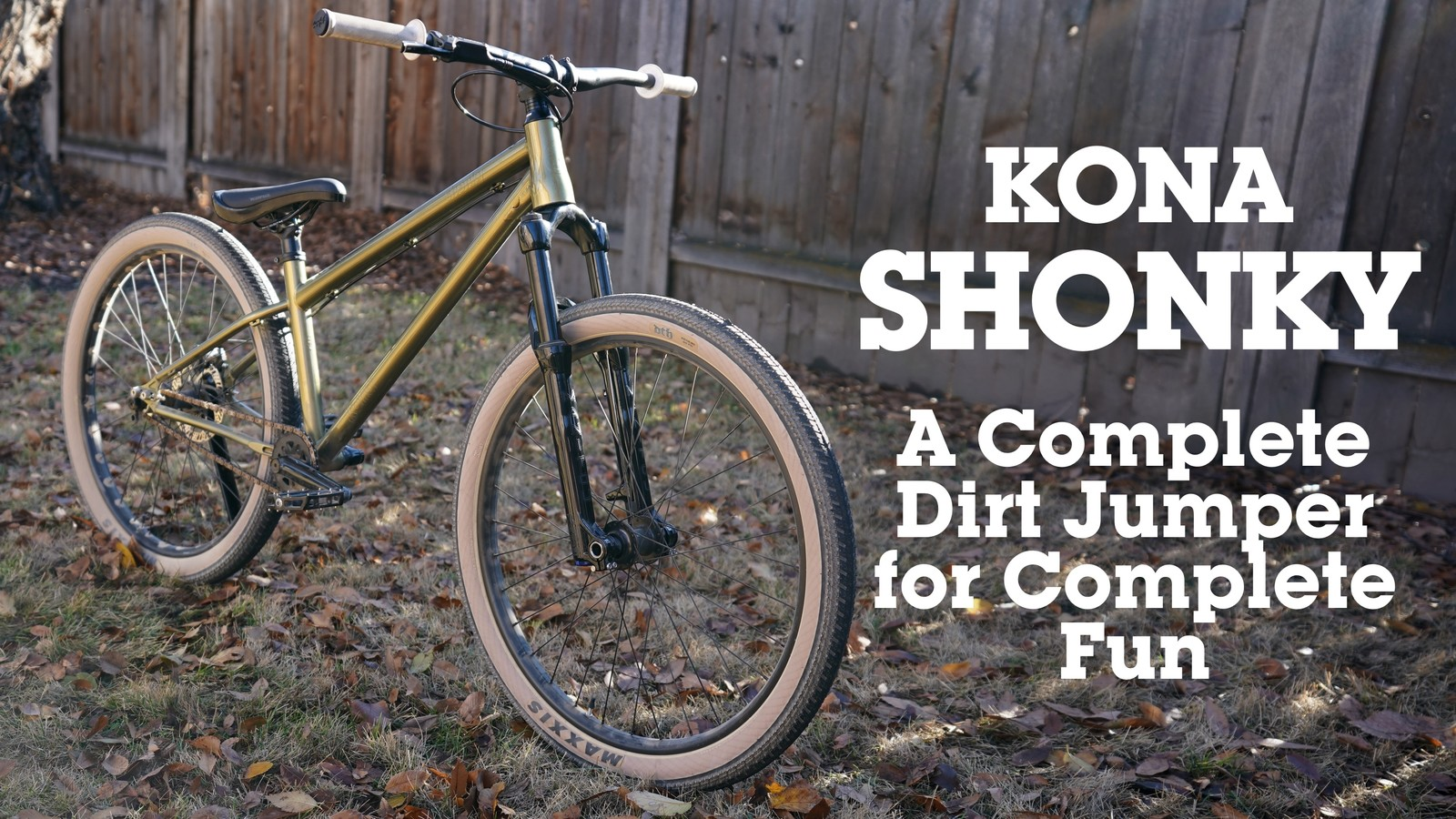 Kona Shonky Complete Build for Complete Fun