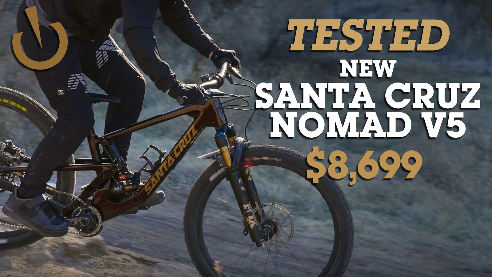 2021 Santa Cruz Nomad V5 REVIEW